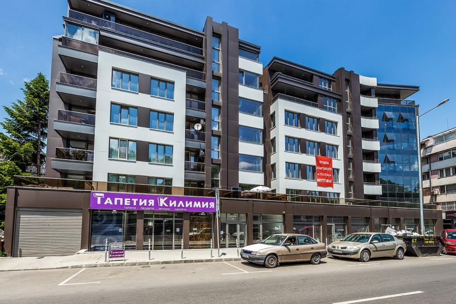Жилищна сграда бул. Яворов 14 кв. Лозенец